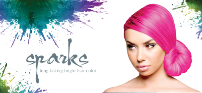 Bright Hair Dyes :: SPARKS